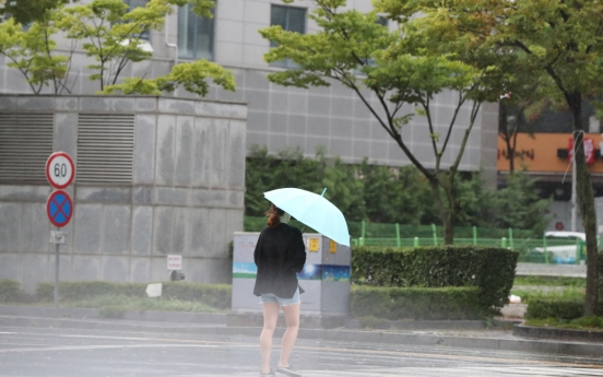 Typhoon Tapah expected to bring heavy rain nationwide over weekend