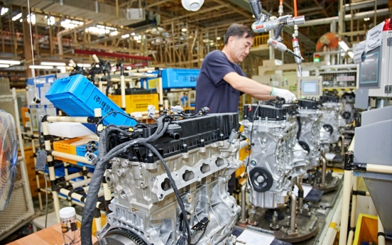 [From the Scene] SsangYong's Changwon plant responsible for gasoline engines of SUV powerhouse