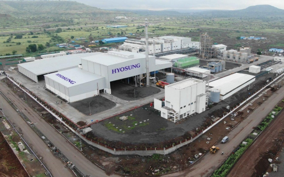 Hyosung's spandex plant starts operation in India
