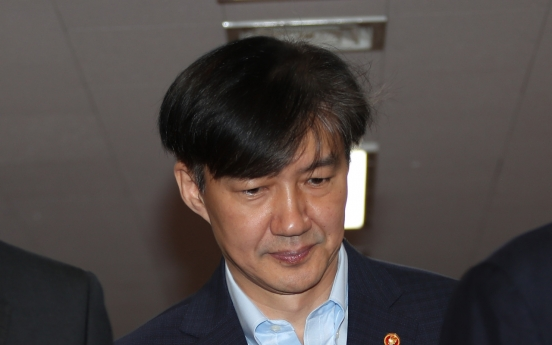Cho Kuk issue to dominate parliamentary interpellation session