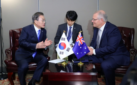 Korea, Australia seek closer ties