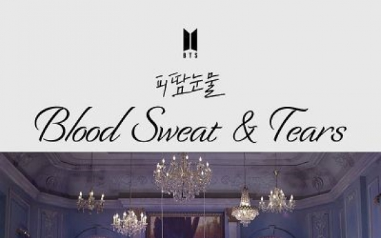 BTS video 'Blood Sweat & Tears' hits 500m YouTube views