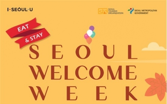 Welcome Week for tourists to start Friday