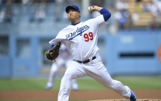 Dodgers' Ryu Hyun-jin to make final regular season start on weekend with ERA title at stake