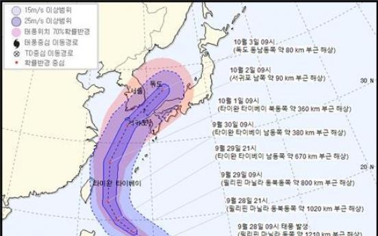 [Newsmaker] Typhoon Mitag may affect S. Korea next week