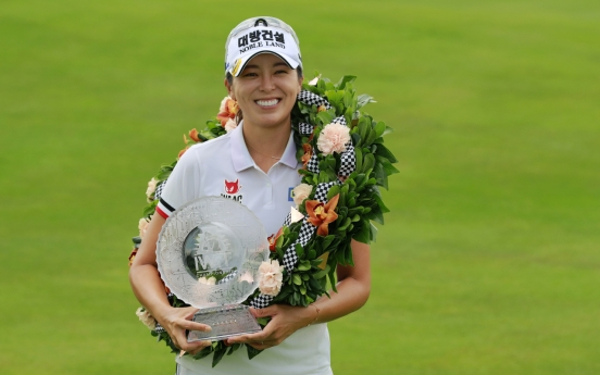 Hur Mi-jung captures 2nd LPGA win of season in Indiana