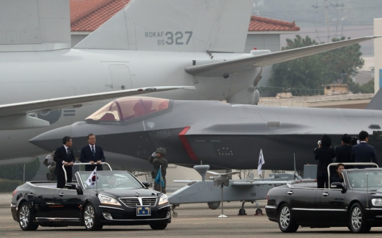 S. Korea's F-35As make official debut on Armed Forces Day