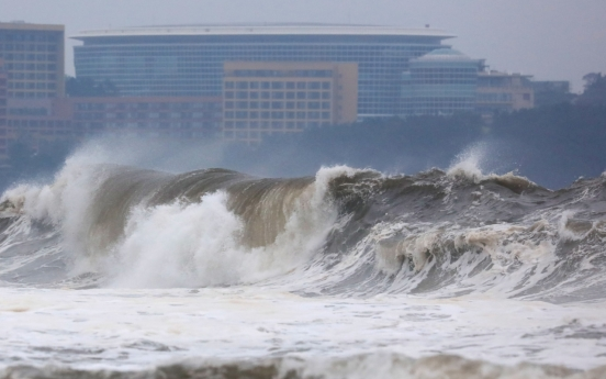 South Korea braces for typhoon as Mitag batters Jeju
