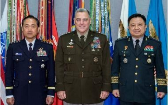 S. Korea, US, Japan agree to address mutual security concerns