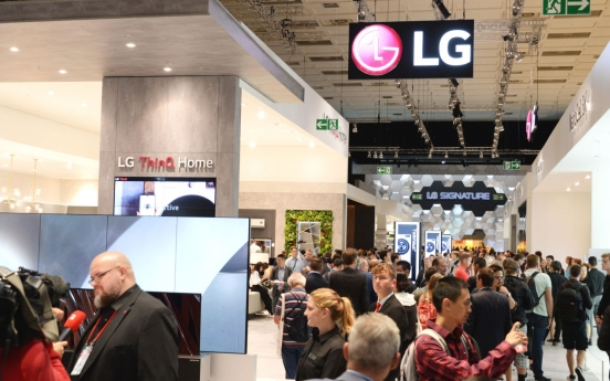 LG Electronics reports largest-ever 3Q sales