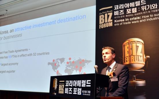 [KH Biz Forum] International trade standards can strengthen Korea's business competitiveness: Psillakis