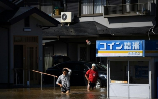 At least 26 dead after Typhoon Hagibis slams Japan
