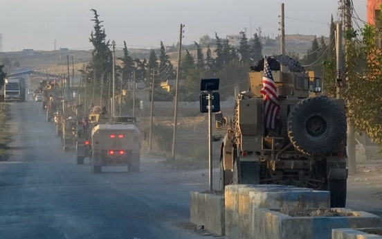 Pentagon says up to 1,000 US troops to withdraw from northern Syria