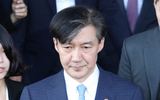Justice Minister Cho Kuk steps down