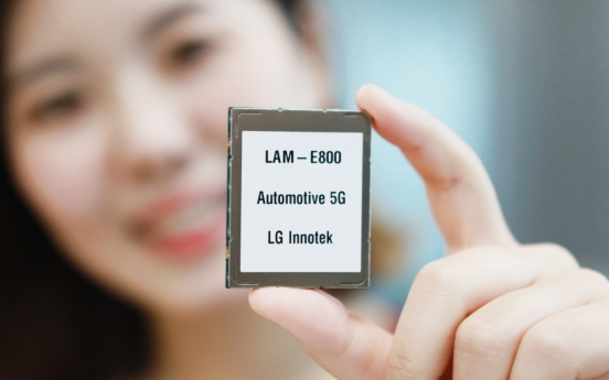 LG Innotek develops first Qualcomm chip-based module for cars