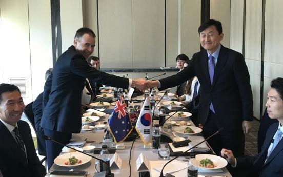 S. Korea, Australia hold vice-ministerial talks on bilateral ties