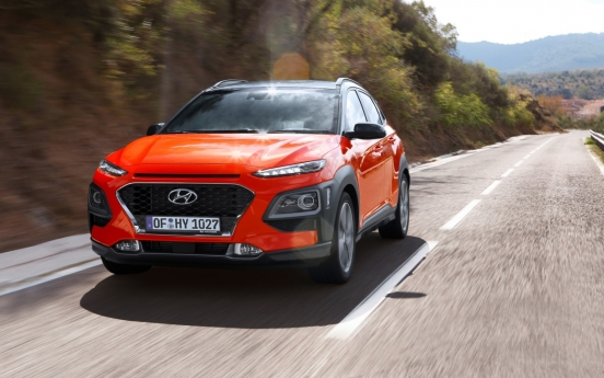 Hyundai Kona named best compact diesel SUV in Europe