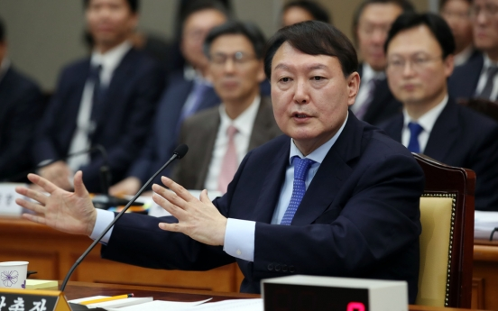 Prosecution was independent under ex-President Lee: chief prosecutor