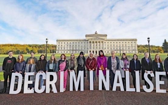 북아일랜드, 22일 0시부터 동성결혼·낙태 허용된다