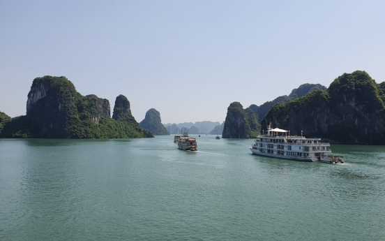 Glide in style through Halong Bay's spectacular scenery