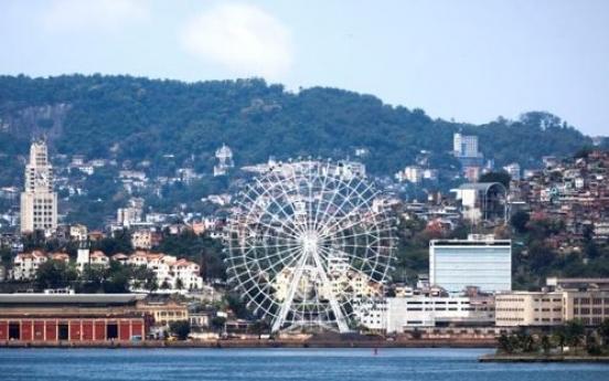 브라질 리우에 대형 회전 관람차 만든다…88m 높이 중남미 최대