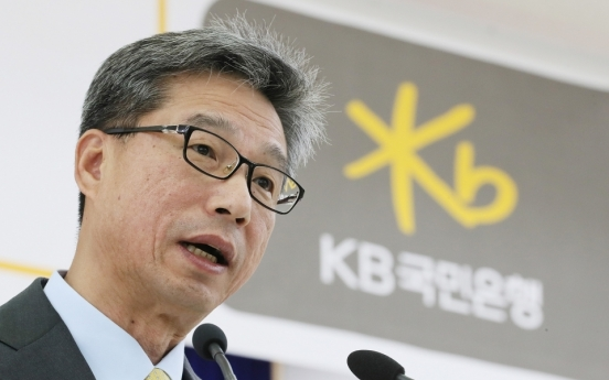 KB Kookmin CEO likely to serve second term