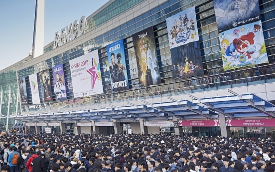 Korea's biggest game convention G-Star to return in Nov.
