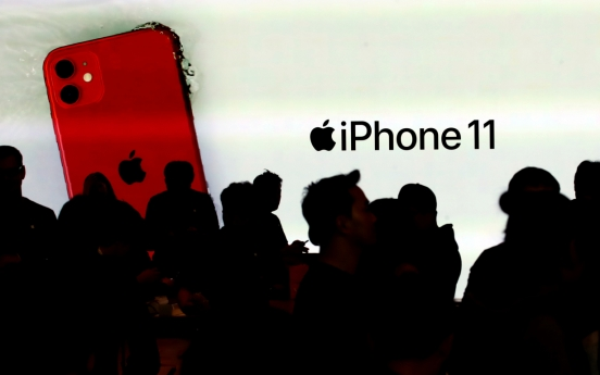 About 130,000 iPhone 11s sold on 1st day in S. Korea: industry