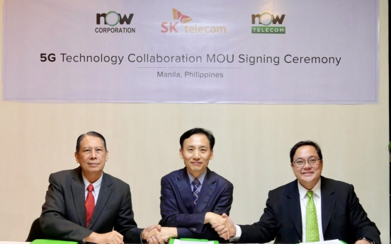 SKT forms partnership to build 5G networks in Philippines