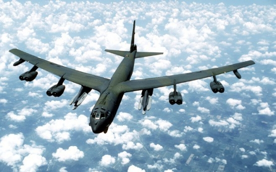Two US B-52 bombers fly over East Sea: aviation tracker