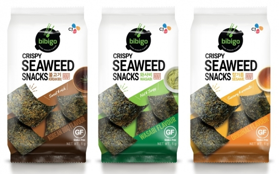 CJ bets big on dried seaweed as next K-food