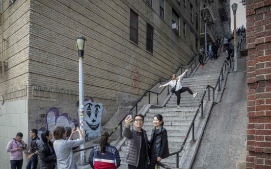 Bronx steps in 'Joker' movie become a tourist attraction