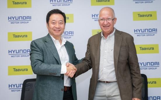 Hyundai, Taavura forge partnership for future mobility