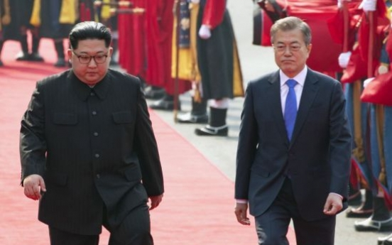 N. Korean leader sends condolence message to Moon over passing of his mother