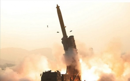 N. Korea says it successfully tested super-large multiple rocket launcher