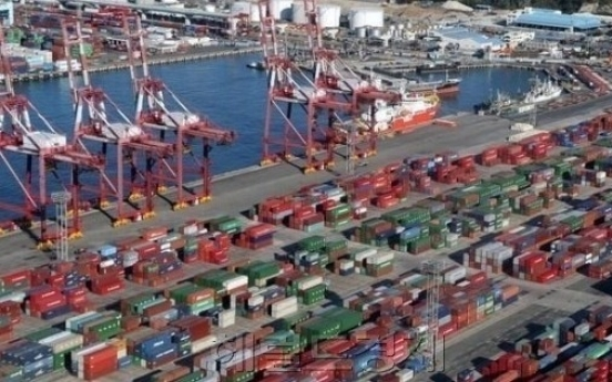 South Korea's exports decline for 11 straight months