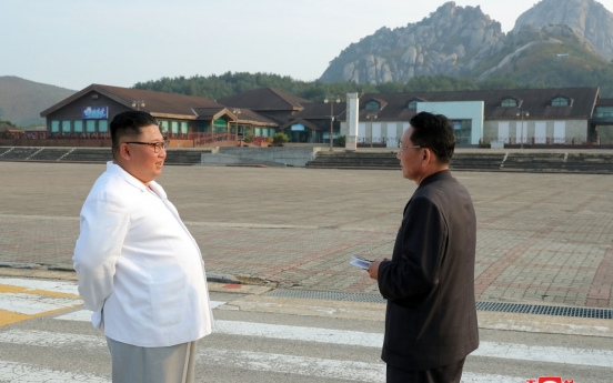 N. Korea boasts of Mt. Kumgang's beauty after Kim's message on removal of S. Korean facilities