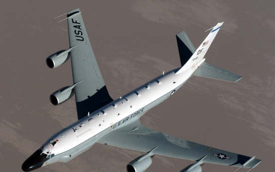 US spy aircraft on missions over East Sea: aviation tracker