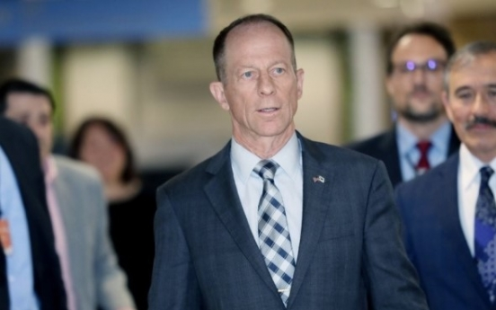 Top US official for Asia arrives in Seoul, expected to discuss GSOMIA
