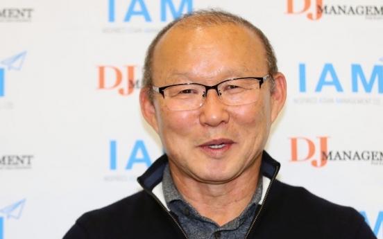 S. Korean coach Park Hang-seo signs extension with Vietnamese nat'l football team