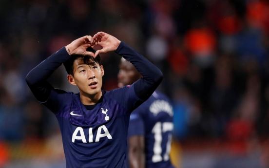 손흥민, 유럽축구 통산 122·123호골…'차붐'넘어 한국인 신기록(종합)