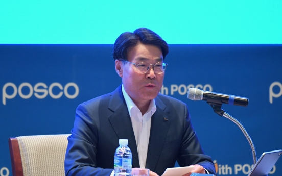 Posco chief stresses coexistence for future growth