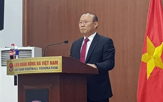S. Korean coach Park Hang-seo signs extension with Vietnamese soccer