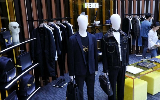 [Weekender] Male shoppers gripped by lure of luxury