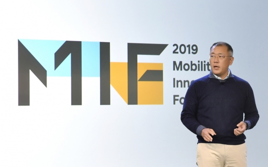 Hyundai Motor heir says mobility innovation is for progress of humanity