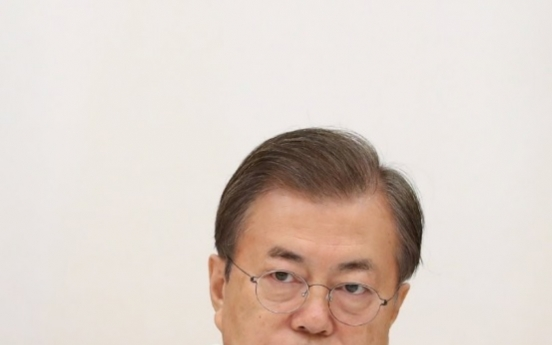 Moon to hold anti-corruption meeting as part of his fair society campaign