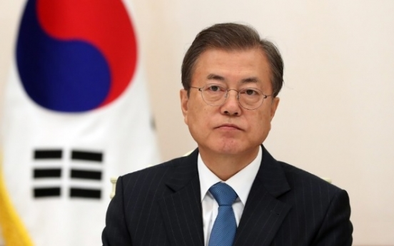 Moon to meet political party leaders Sunday amid political stalemate