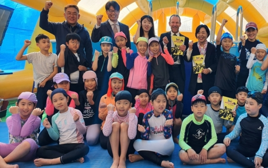 [Diplomatic circuit] Australian Embassy supports water safety education in Seoul