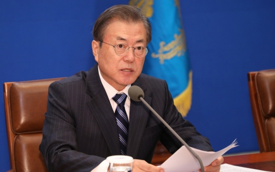 President Moon to hold televised town hall meeting next Tuesday