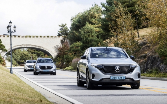 [Behind the Wheel] First all-electric vehicle under EQ brand arrives in Korea
